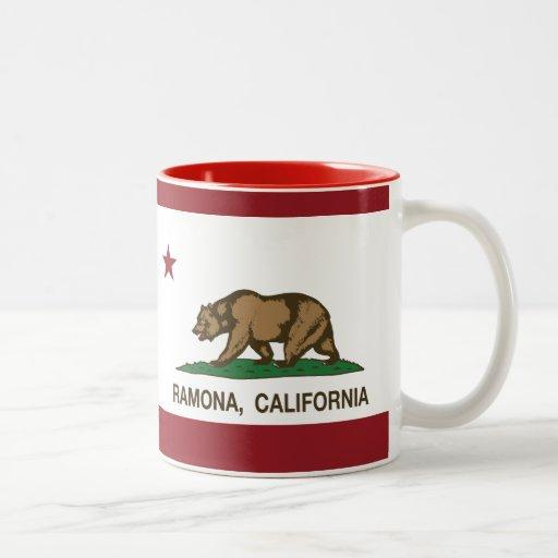 California State Flag Ramona Coffee Mug