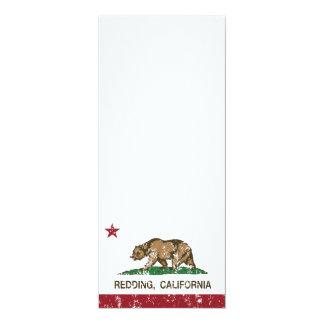 California State Flag Redding Custom Invitations