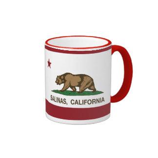 California State Flag Salinas Coffee Mug