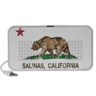California State Flag Salinas Travel Speaker