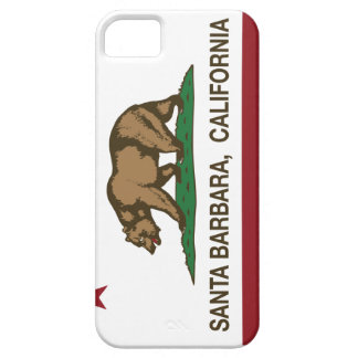 California State Flag Santa Barbara iPhone 5/5S Cover