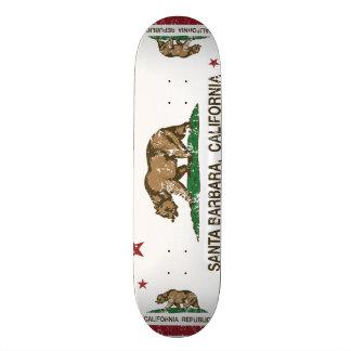 California State Flag Santa Barbara Skate Decks