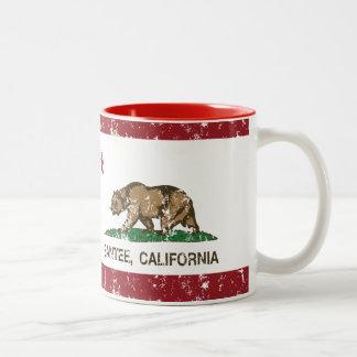 California State Flag Santee Two-Tone Mug