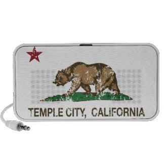 California State Flag Temple City Travelling Speaker