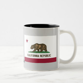 California State Flag Two-Tone Mug