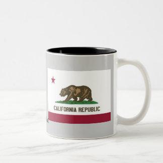California State Flag Two-Tone Mug