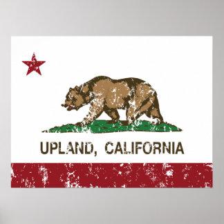 California State Flag Upland Print