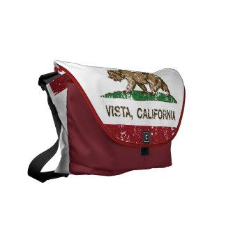 California State Flag Vista Messenger Bag
