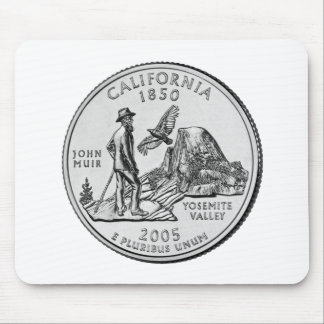 California State Quarter Mouse Pads