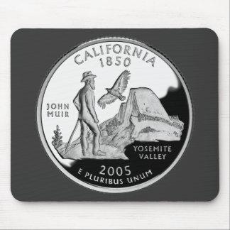 California State Quarter Mouse Pad