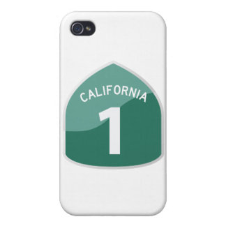 California State Route 1 Pacific Coast Highway Covers For iPhone 4