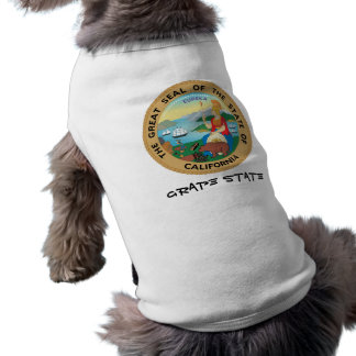 California State Seal and Motto Shirt