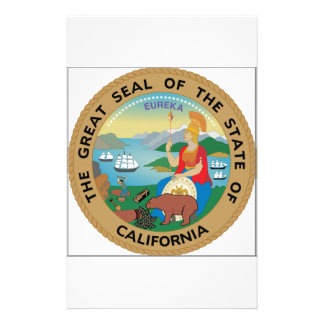 California State Seal Stationery Paper
