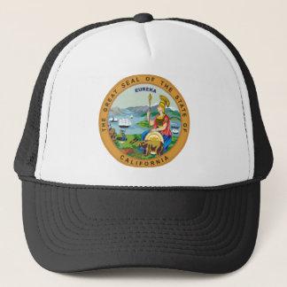 California State Seal Trucker Hat
