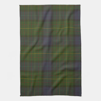 California state tartan tea towel