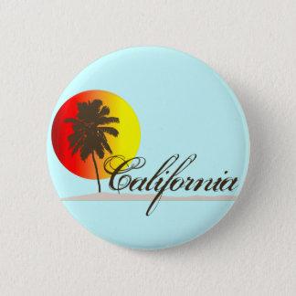 California Sunset 6 Cm Round Badge