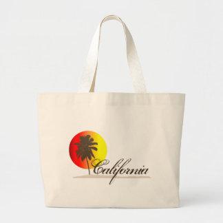 California Sunset Canvas Bag