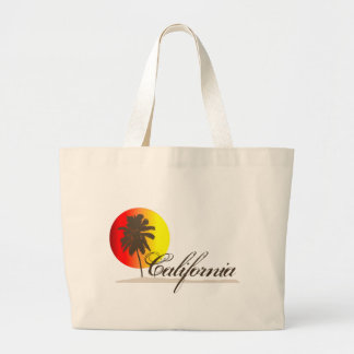 California Sunset Large Tote Bag
