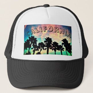 California Sunset Trucker Hat