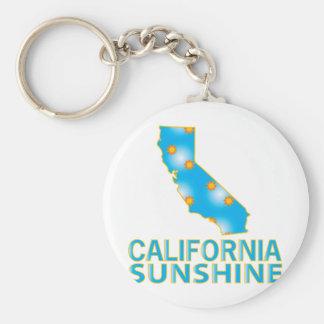 California Sunshine Key Ring