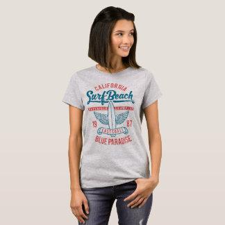 California Surf Beach Paradise T-Shirt