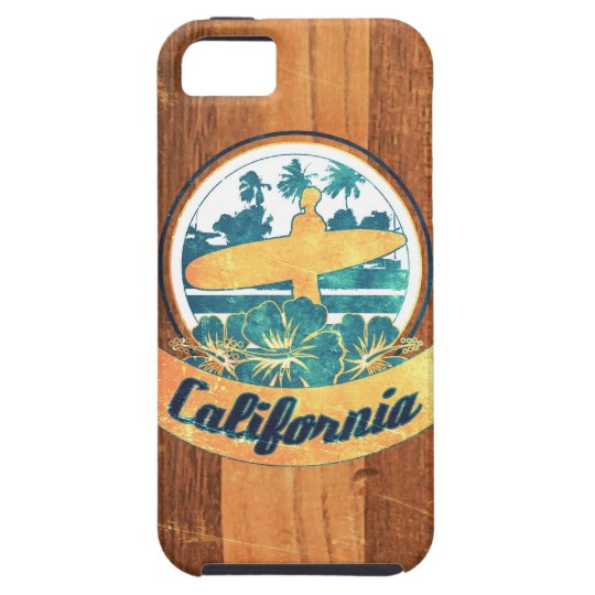 California surfboard case for the iPhone 5
