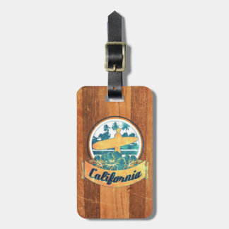 California surfboard tags for luggage
