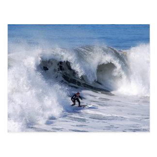 California Surfer Postcard