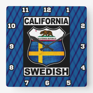 California Swedish American Clock