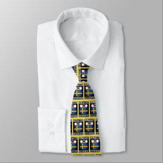 California Swedish American Necktie