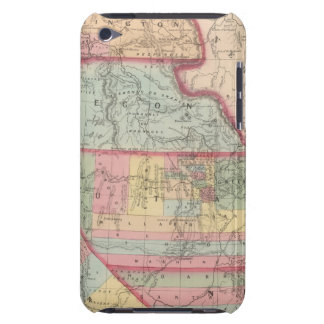 California, Territories of Oregon, Washington iPod Case-Mate Case