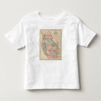 California, Territories of Oregon, Washington T-shirt