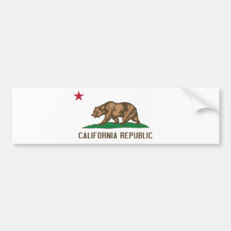 California - The Golden State Bumper Sticker