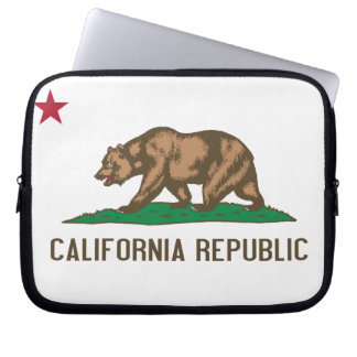 California - The Golden State Laptop Sleeve
