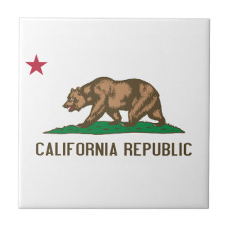 California - The Golden State Tile