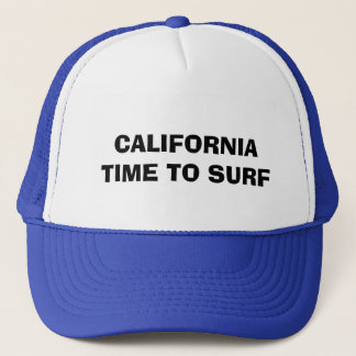 CALIFORNIA TIME... TRUCKER HAT
