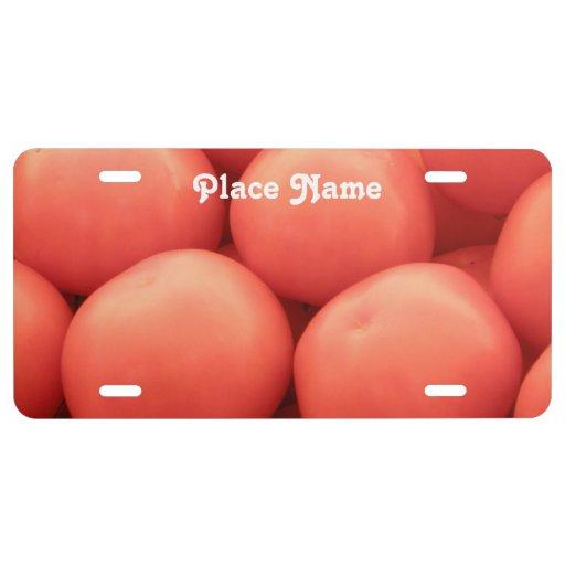 California Tomatos License Plate