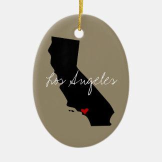 California Town Christmas Ornament