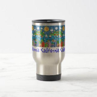 California travel mug. travel mug