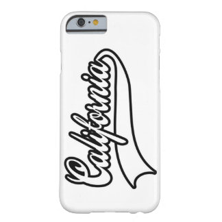 California typography barely there iPhone 6 case