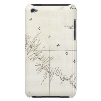 California Uncolored chart iPod Touch Case