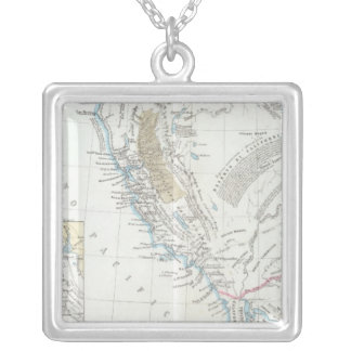California United States Silver Plated Necklace
