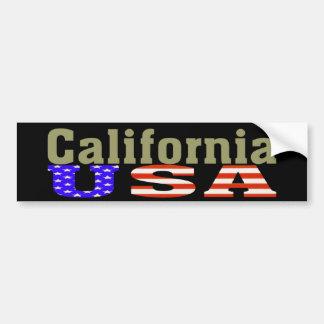 California USA! Bumper Sticker