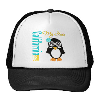 California USA Penguin Cap
