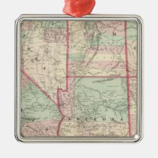 California, Utah, Nevada, Colorado Christmas Ornament