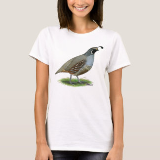 California Valley Quail T-Shirt