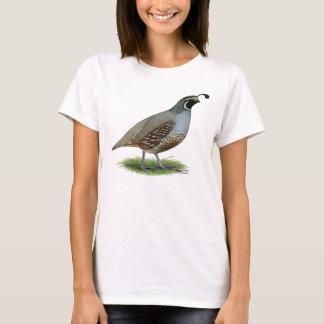 California Valley Quail T-Shirt