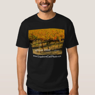 California Vines (4698) California Products T Shirt