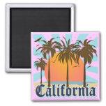 California Vintage Souvenir Square Magnet