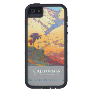 California Vintage Travel Poster iPhone 5/5S Cases